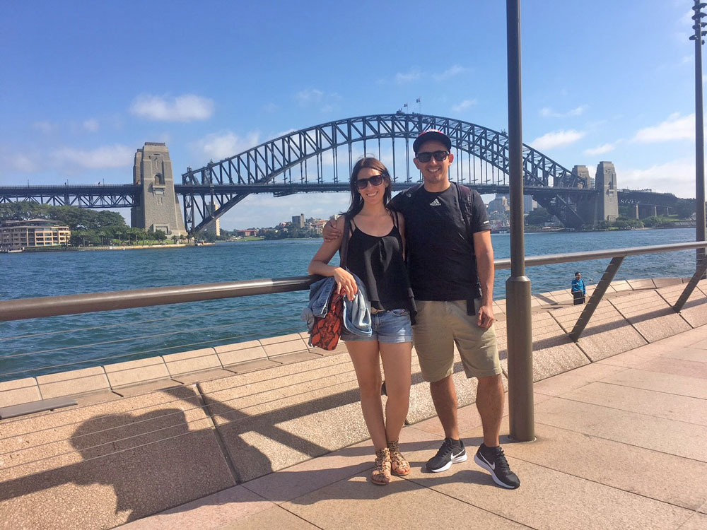 Carolina sydney harbour bridge