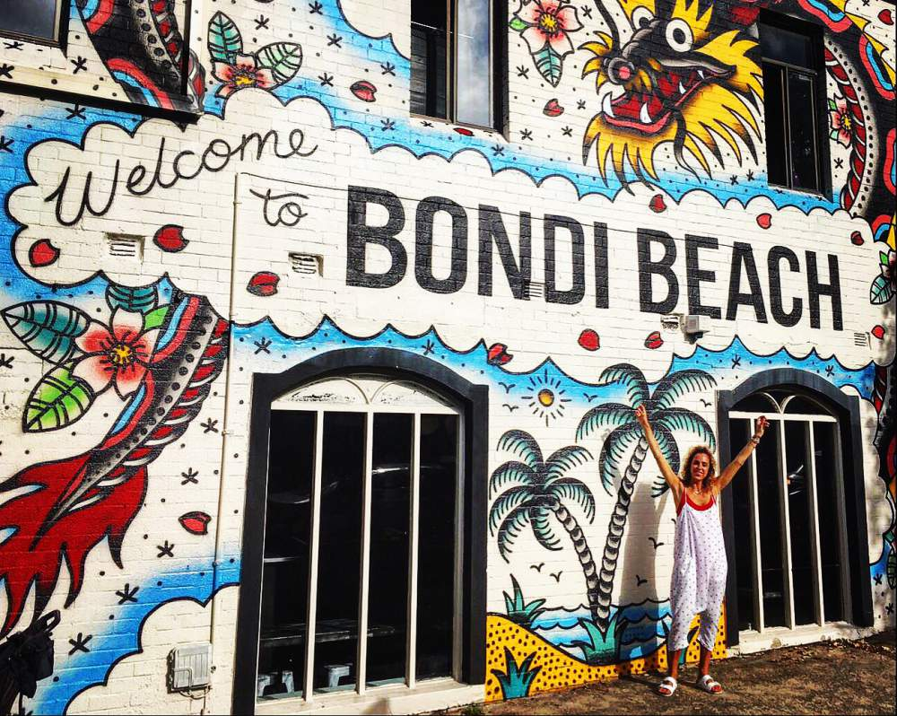 Bondi beach art